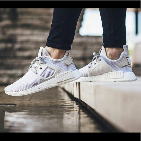 25de14216529e5 adidas Shoes - Adidas NMD XR1 Triple White